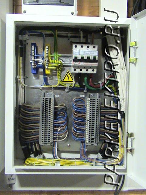 Схемы квартирного электрощита